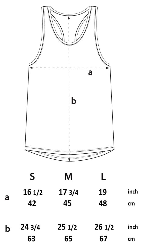 singlet size chart W